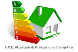 APE: attestazione di prestazione energetica